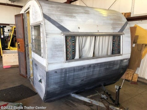 1959 Forest River Cardinal 15' FRONT DINETTE REAR BED