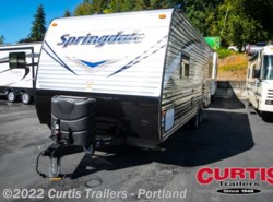 New 2017  Keystone Springdale West 202QBWE by Keystone from Curtis Trailers in Portland, OR