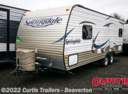 Used 2014  Keystone Springdale 202QBWE by Keystone from Curtis Trailers in Aloha, OR