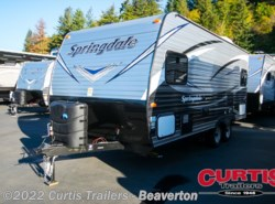 New 2017  Keystone Springdale West 179QBWE by Keystone from Curtis Trailers in Aloha, OR