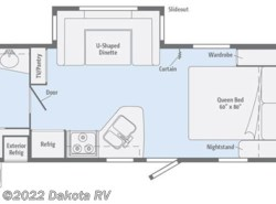 New 2017  Winnebago Minnie 2201DS by Winnebago from Dakota RV in Rapid City, SD