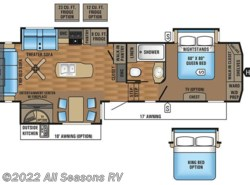 New 2017  Jayco Eagle 317RLOK by Jayco from All Seasons RV in Muskegon, MI