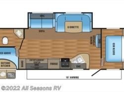 New 2017  Jayco Jay Flight SLX 284BHSW by Jayco from All Seasons RV in Muskegon, MI