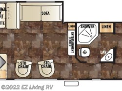 New 2017  Forest River Cherokee 274RK by Forest River from EZ Living RV in Braidwood, IL