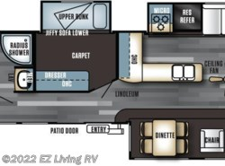 New 2017  Forest River Salem Villa 385FLBH by Forest River from EZ Living RV in Braidwood, IL