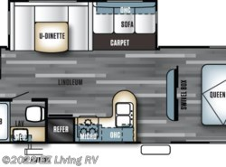 New 2017  Forest River Salem 30KQBSS by Forest River from EZ Living RV in Braidwood, IL