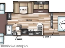 New 2017  Forest River Salem 31KQBTS by Forest River from EZ Living RV in Braidwood, IL