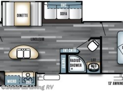 New 2017  Forest River Salem 31BKIS by Forest River from EZ Living RV in Braidwood, IL