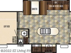 New 2017  Forest River Vengeance 377V by Forest River from EZ Living RV in Braidwood, IL