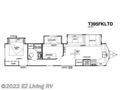 New 2017  Forest River Salem Villa 395FKLTD by Forest River from EZ Living RV in Braidwood, IL
