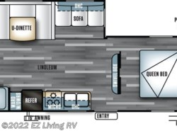 New 2017  Forest River Salem T26TBUD by Forest River from EZ Living RV in Braidwood, IL
