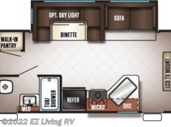 New 2017  Forest River Cherokee 284RJ by Forest River from EZ Living RV in Braidwood, IL