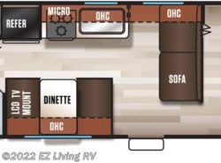 New 2017  Forest River Cherokee Grey Wolf 26DJSE by Forest River from EZ Living RV in Braidwood, IL
