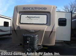 New 2017  Forest River Rockwood Signature Ultra Lite 8329SS by Forest River from Gansen Auto & RV Sales, Inc. in Riceville, IA