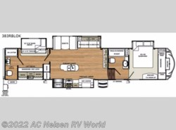 New 2017  Forest River Sandpiper 383RBLOK by Forest River from AC Nelsen RV World in Omaha, NE