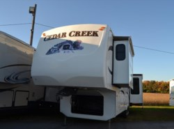 Used 2009  Forest River Cedar Creek 34SATS by Forest River from Delmarva RV Center in Milford, DE