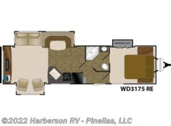 New 2017  Heartland RV  WD 3175 RE by Heartland RV from Harberson RV - Pinellas, LLC in Clearwater, FL