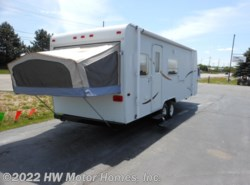 Used 2002  Jayco Kiwi 25 E ** KITCHEN - SOFA Slide by Jayco from HW Motor Homes, Inc. in Canton, MI