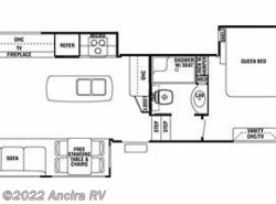 Used 2013  Forest River Cedar Creek 34RLSA by Forest River from Ancira RV in Boerne, TX