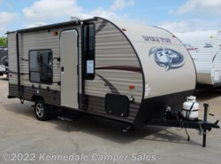 "Used 2016  Forest River Cherokee Wolf Pup 16FQ 21'5"" by Forest River from Kennedale Camper Sales in Kennedale, TX"