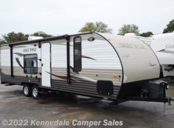 "Used 2016  Forest River Cherokee Grey Wolf 26RR 30'8"" **TOYBOX** by Forest River from Kennedale Camper Sales in Kennedale, TX"