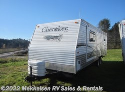 Used 2008  Cherokee  27T by Cherokee from Mekkelsen RV Sales & Rentals in East Montpelier, VT