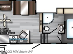 New 2017  Forest River Arctic Wolf 255DRL4 by Forest River from Mid-State RV Center in Byron, GA