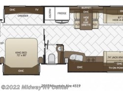 New 2017  Newmar Mountain Aire  4519 by Newmar from Midway RV Center in Grand Rapids, MI