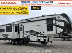 New 2016  Heartland RV ElkRidge 34TSRE W/3 Slides, 2 A/C, Fireplace & King Bed by Heartland RV from Motor Home Specialist in Alvarado, TX