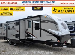 New 2016  Heartland RV Wilderness 3250BS 2 Bunks, Pwr Jacks, Pwr Awning, 2 A/Cs by Heartland RV from Motor Home Specialist in Alvarado, TX