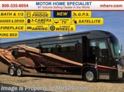 New 2016  Entegra Coach Cornerstone 45A Bath & 1/2 Luxury RV, 600HP, GPS, K-3 Chassis by Entegra Coach from Motor Home Specialist in Alvarado, TX