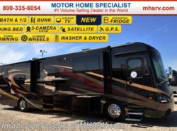 New 2017  Coachmen Cross Country 404RB Bath & 1/2, Stack W/D, King, Pwr Salon Bunks by Coachmen from Motor Home Specialist in Alvarado, TX