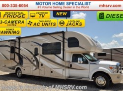 New 2017  Thor Motor Coach Four Winds Super C 35SD W/2 Slides, 10K Hitch, OH Loft by Thor Motor Coach from Motor Home Specialist in Alvarado, TX