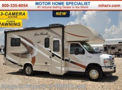 New 2017  Thor Motor Coach Four Winds 22E W/3 Cam, 15K BTU A/C, Pwr Awning, Heated Tanks by Thor Motor Coach from Motor Home Specialist in Alvarado, TX