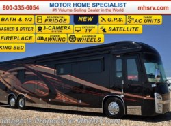New 2017  Entegra Coach Cornerstone 45A Bath & 1/2 Luxury RV for Sale at MHSRV by Entegra Coach from Motor Home Specialist in Alvarado, TX