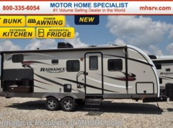 New 2017  Cruiser RV Radiance 24BHDS Touring Ed. Bunk House RV for Sale W/Exteri by Cruiser RV from Motor Home Specialist in Alvarado, TX