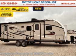 New 2017  Cruiser RV Radiance Touring Edition 28BHSS RV for Sale at MHSRV.com by Cruiser RV from Motor Home Specialist in Alvarado, TX