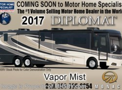 New 2017  Monaco RV Diplomat 43D Bath & 1/2 Luxury Diesel RV for Sale by Monaco RV from Motor Home Specialist in Alvarado, TX