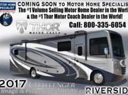 New 2017  Thor Motor Coach Challenger 37YT Coach for Sale at MHSRV W/King Bed by Thor Motor Coach from Motor Home Specialist in Alvarado, TX