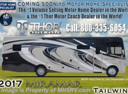 New 2017  Thor Motor Coach Miramar 35.2 RV for Sale W/King Bed & Theater Seats by Thor Motor Coach from Motor Home Specialist in Alvarado, TX