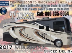 New 2017  Thor Motor Coach Miramar 34.4 RV for Sale W/Ext. Kitchen & King Bed by Thor Motor Coach from Motor Home Specialist in Alvarado, TX