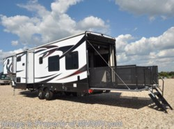 New 2017  Heartland RV Edge 351ED Toy Hauler, Bath & 1/2, Bunk RV for Sale by Heartland RV from Motor Home Specialist in Alvarado, TX