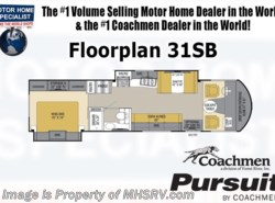 New 2017  Coachmen Pursuit 31SBP RV for Sale at MHSRV W/King, Jacks, 2 A/Cs by Coachmen from Motor Home Specialist in Alvarado, TX