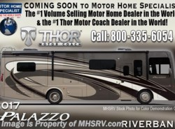 New 2017  Thor Motor Coach Palazzo 36.3 Bath & 1/2 Diesel Pusher RV for Sale W/King by Thor Motor Coach from Motor Home Specialist in Alvarado, TX