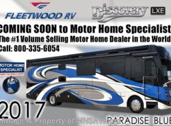 New 2017  Fleetwood Discovery LXE 40G Bunk Model RV for Sale @ MHSRV.com W/OH TV by Fleetwood from Motor Home Specialist in Alvarado, TX