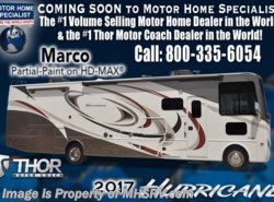 New 2017  Thor Motor Coach Hurricane 34J Bunk Model RV for Sale W/King Bed, Ext Kitchen by Thor Motor Coach from Motor Home Specialist in Alvarado, TX