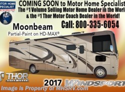 New 2017  Thor Motor Coach Windsport 31S RV for Sale at MHSRV W/Jacks, 2 A/Cs, 5.5K Gen by Thor Motor Coach from Motor Home Specialist in Alvarado, TX