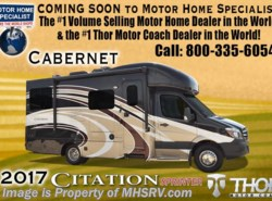 New 2017  Thor Motor Coach Chateau Citation Sprinter 24SV Diesel RV for Sale at MHSRV Jacks & Dsl Gen by Thor Motor Coach from Motor Home Specialist in Alvarado, TX