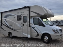 New 2017  Thor Motor Coach Chateau Sprinter 24FS Diesel RV for Sale at MHSRV W/Dsl Gen, Ext TV by Thor Motor Coach from Motor Home Specialist in Alvarado, TX