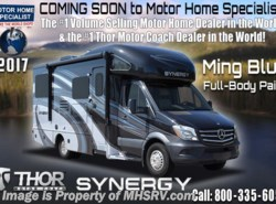 New 2017  Thor Motor Coach Synergy SP24 Sprinter Diesel RV for Sale at MHSRV W/3 Cams by Thor Motor Coach from Motor Home Specialist in Alvarado, TX